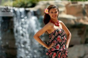 Agnes Gerry Miss Seychelles Miss Monde 2013